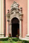 Portal of the Church of St. Michael in Sandomierz — Stock Photo