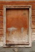 Finestra di un edificio medievale — Foto Stock