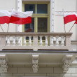 Polish flag - Foto Stock