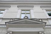 Part of a historic building — Fotografia Stock