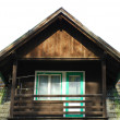 Part of wooden house — Stock Photo