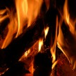 Fire flame background — Foto Stock