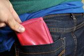 Pickpocket — Stock Photo