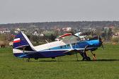 Small plane — Stock Photo