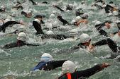 Triathletes — Stock Photo