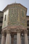 Moschea degli omayyadi, un dettaglio decorativo, damasco — Foto Stock