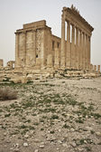 The ruins of the temple in Palmyra — Stock Photo