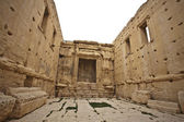 Inside of the main altar of the Bel temple. Palmyra. — Stock Photo