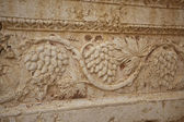 Decorative border in the temple of Bel, Palmyra, Syria — Stock Photo