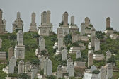 Village cemetery in Syria — Stock Photo