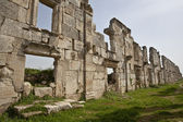 Ruins of Apamea Syria — Stock Photo