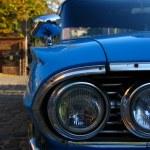 Classic blue car — Stock Photo #2998592