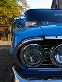 古典的な青い車 — ストック写真