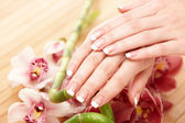 Spa hands — Stockfoto