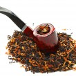 Pipe and tobacco — Stock Photo