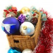 Stock Photo: Christmas toys