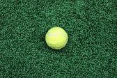 Yellow tennis ball — Stock Photo