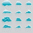 Universal icons - Set (Weather) for you — Image vectorielle