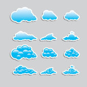 Universal icons - Set (Weather) for you — Stockvektor
