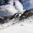 Glacier Stubai — Stock Photo