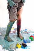Color paints — Stock Photo