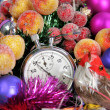 Five seconds to new year — Stock Photo