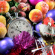 Stock Photo: Five seconds to new year