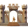Royalty-Free Stock Photo: Isolated toy castle