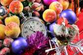Five seconds to new year — Foto de Stock
