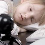 Sleeping girl — Stock Photo #3170729