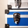 Three suitcases — Stock Photo