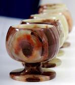 Onyx goblets — Stock Photo