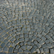 Pattern of cobble stoned street — Stock Photo #3750793