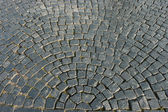 Pattern of cobble stoned street — Stock Photo
