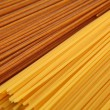 Organic and home made spaghetti — Stock Photo