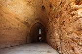 Acre knight templar castle, Israel — Stock Photo