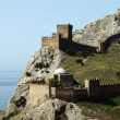 Genoa Fortress - Stock Photo
