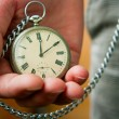 Old Watch in Hand — Stock Photo