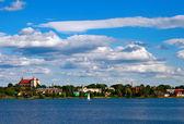 Lake In Trakai — Stock Photo