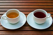 Two Kinds Of Tea — Stock Photo
