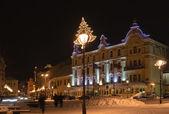 Night Vilnius — Stock Photo