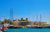 Old Castle In Bodrum — Stock Photo