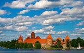 Trakai Castle In Lithuania — Stock Photo