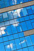 Blue Sky And Clouds Reflection — Stock Photo