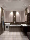Modern interior of bathroom — Stock fotografie