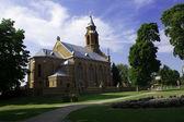 Kernave Church — Stock Photo