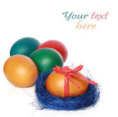 Colour Easter eggs — Stock Photo