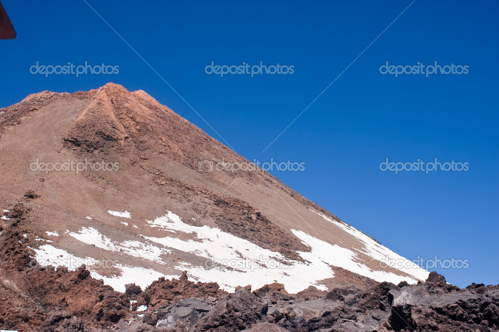 Tenerife El Teide Volcano — Stock Photo #3161572