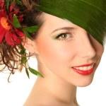 bahar-kadın — Stok fotoğraf