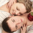 Comfortable love - Stock Photo